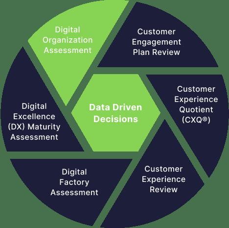 Data Driven Decisions Circle - Digital Organization Assessment